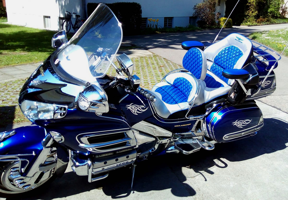 Goldwing Custom Paint